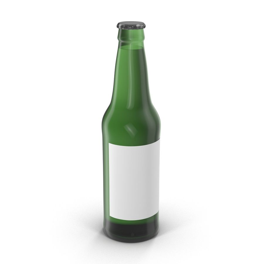 Bottles Collection 2 royalty-free 3d model - Preview no. 21