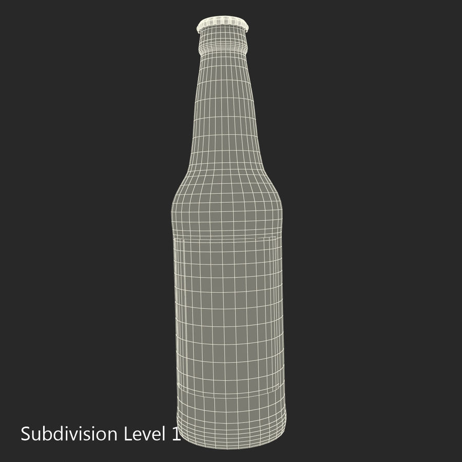Bottles Collection 2 royalty-free 3d model - Preview no. 52