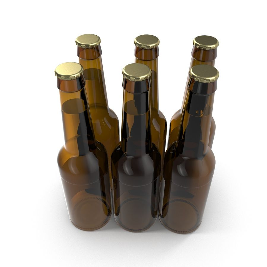 Bottles Collection 2 royalty-free 3d model - Preview no. 33