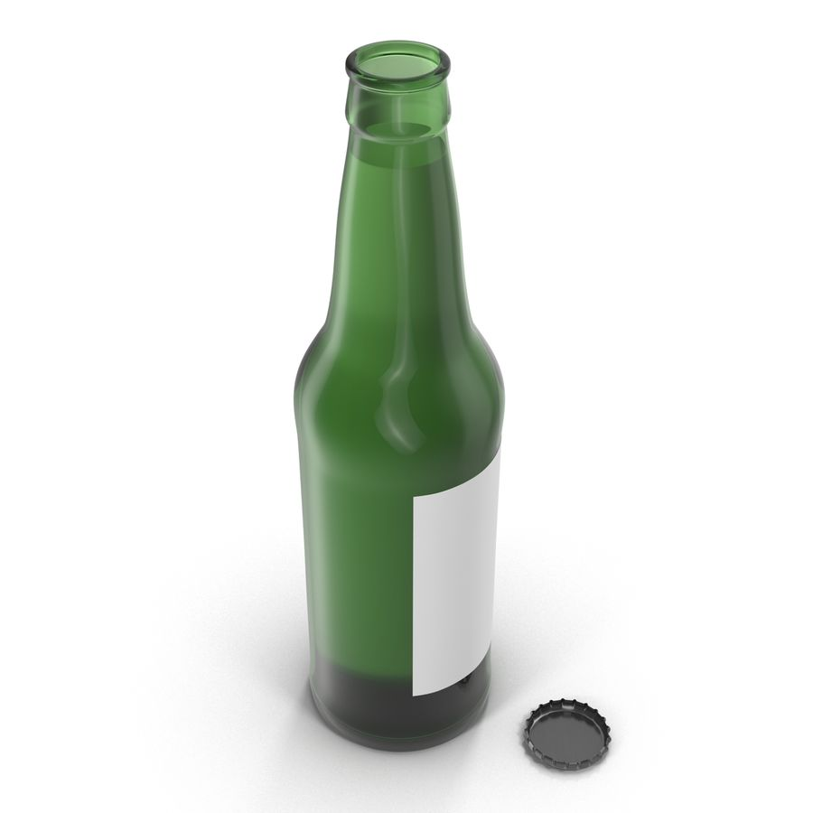Bottles Collection 2 royalty-free 3d model - Preview no. 26