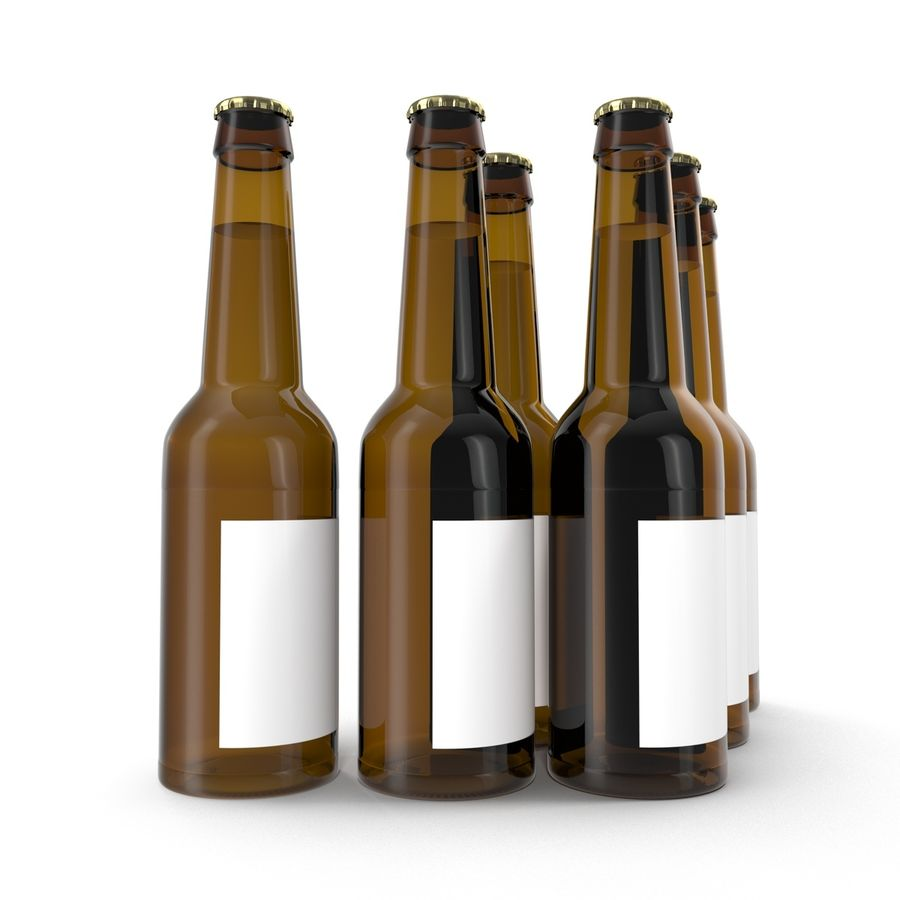 Bottles Collection 2 royalty-free 3d model - Preview no. 32