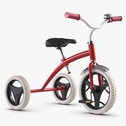 Triciclo per bambini 3d model