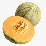 Cantaloupe + Half 3d model