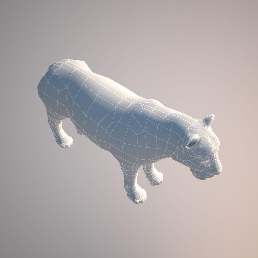 Safari djur samling royalty-free 3d model - Preview no. 41
