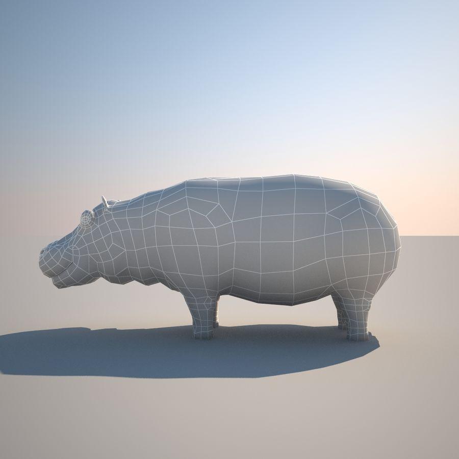 Safari djur samling royalty-free 3d model - Preview no. 31