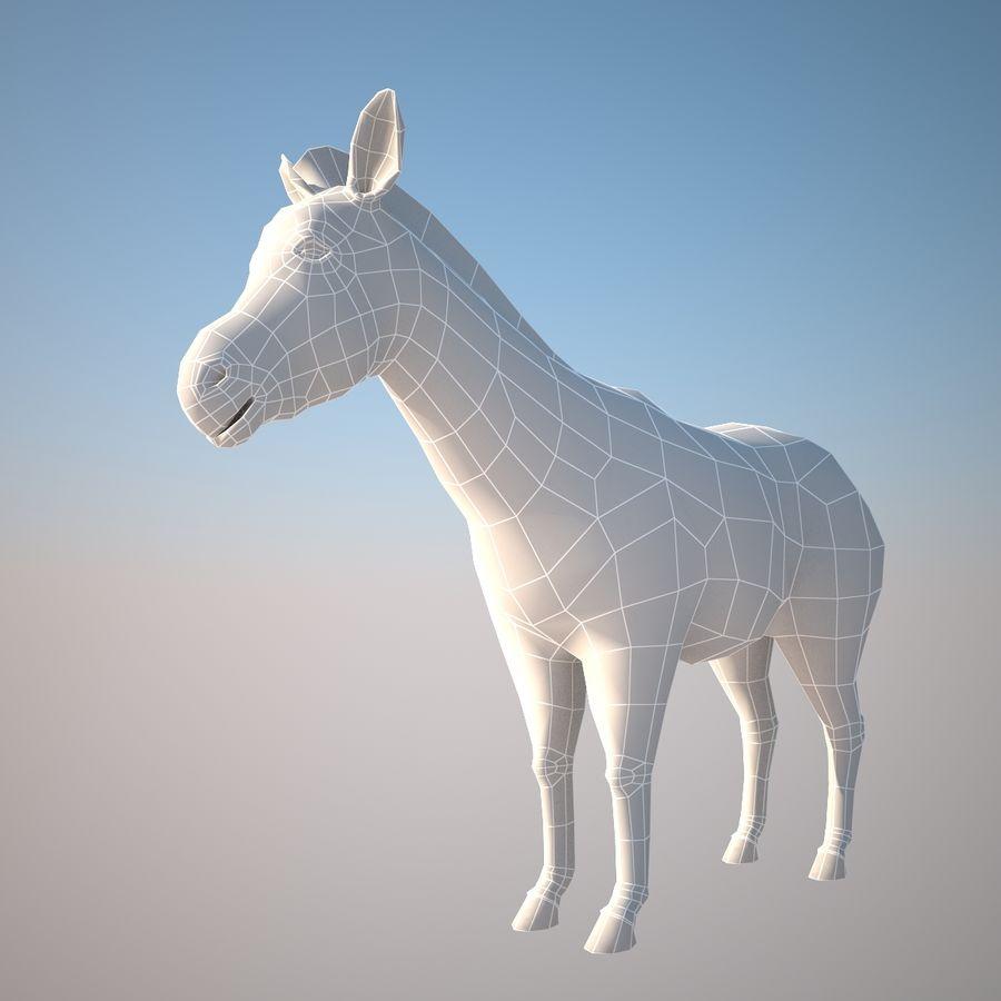 Safari djur samling royalty-free 3d model - Preview no. 9