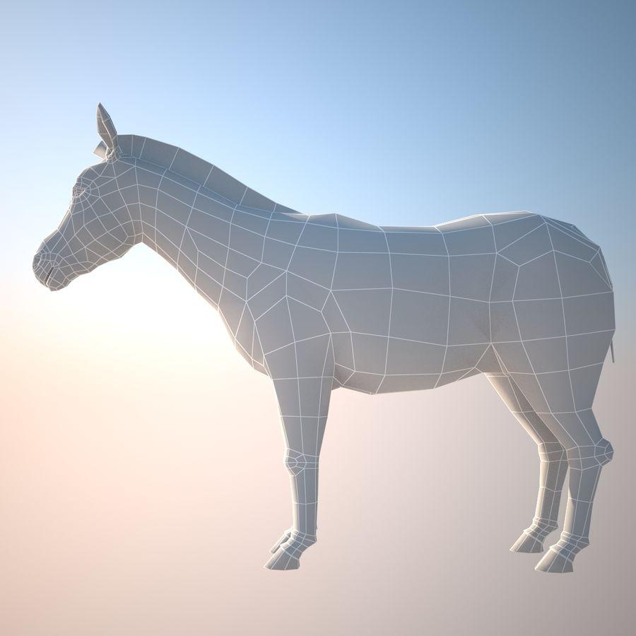 Safari djur samling royalty-free 3d model - Preview no. 7