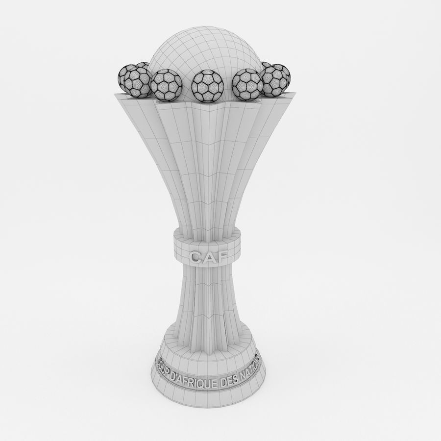 African Cup Of Nation royalty-free 3d model - Preview no. 7