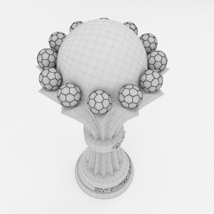 African Cup Of Nation royalty-free 3d model - Preview no. 8