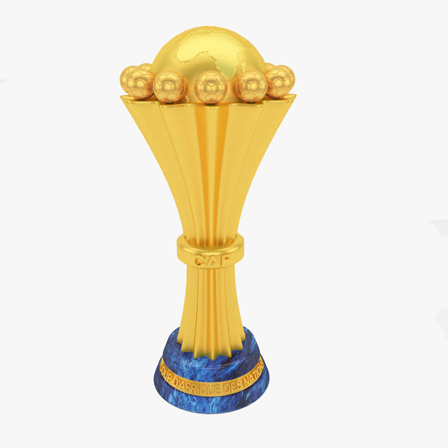 African Cup Of Nation royalty-free 3d model - Preview no. 1