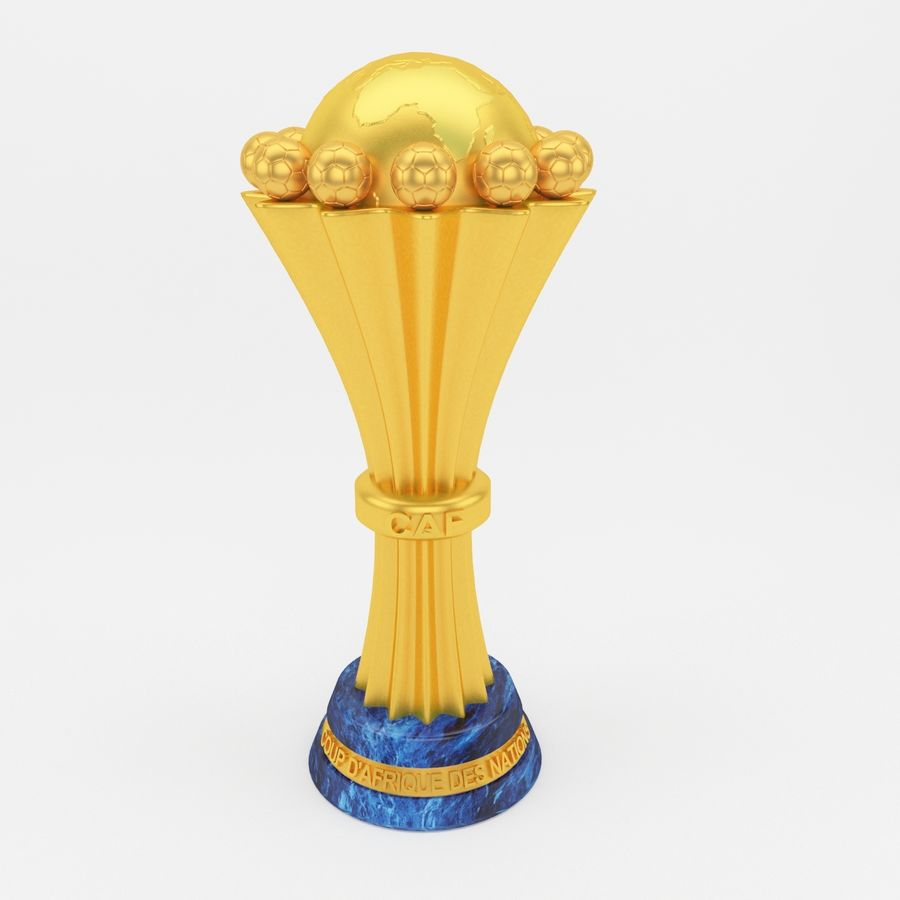 African Cup Of Nation royalty-free 3d model - Preview no. 2