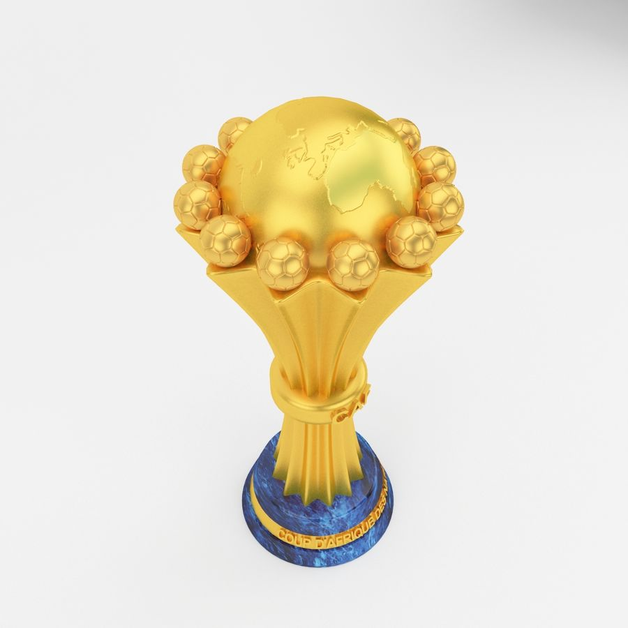African Cup Of Nation royalty-free 3d model - Preview no. 4