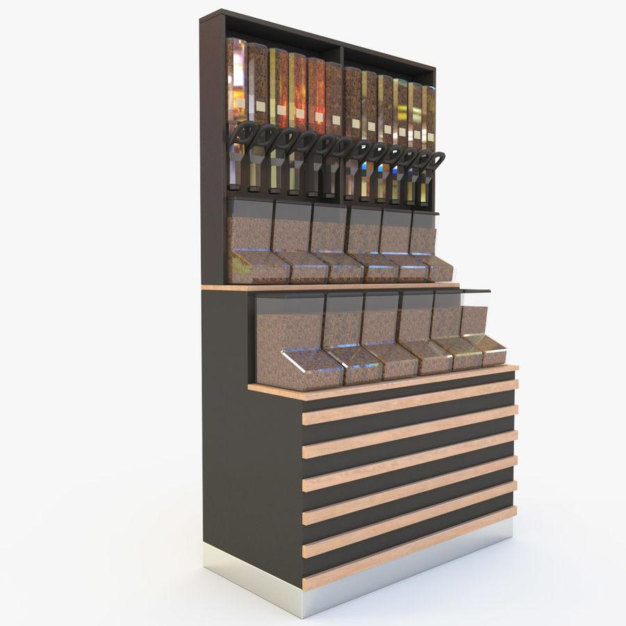 Frutta secca dell'erogatore royalty-free 3d model - Preview no. 6