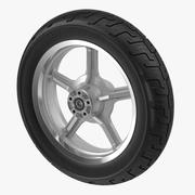 Motorcycle Tire 3d model