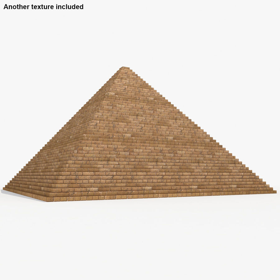 이집트 피라미드 royalty-free 3d model - Preview no. 4