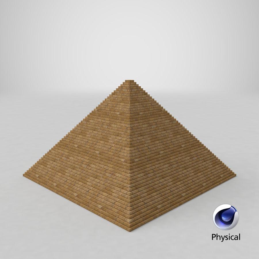 이집트 피라미드 royalty-free 3d model - Preview no. 25