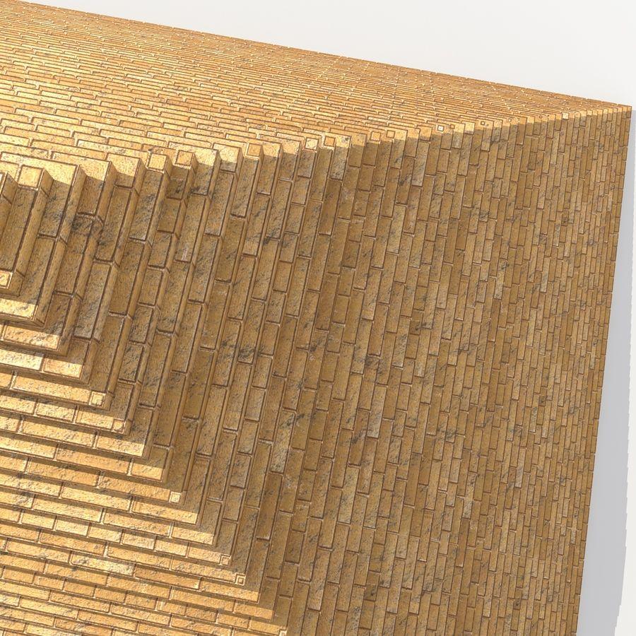 이집트 피라미드 royalty-free 3d model - Preview no. 11
