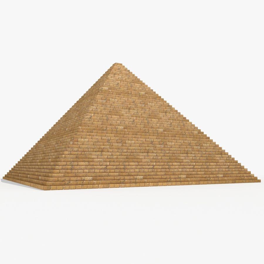 이집트 피라미드 royalty-free 3d model - Preview no. 3