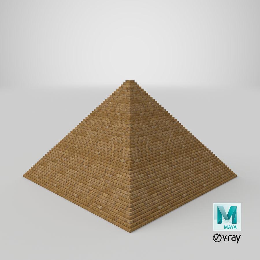 이집트 피라미드 royalty-free 3d model - Preview no. 21