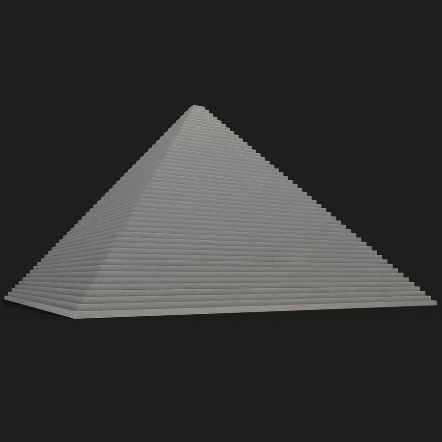 이집트 피라미드 royalty-free 3d model - Preview no. 18