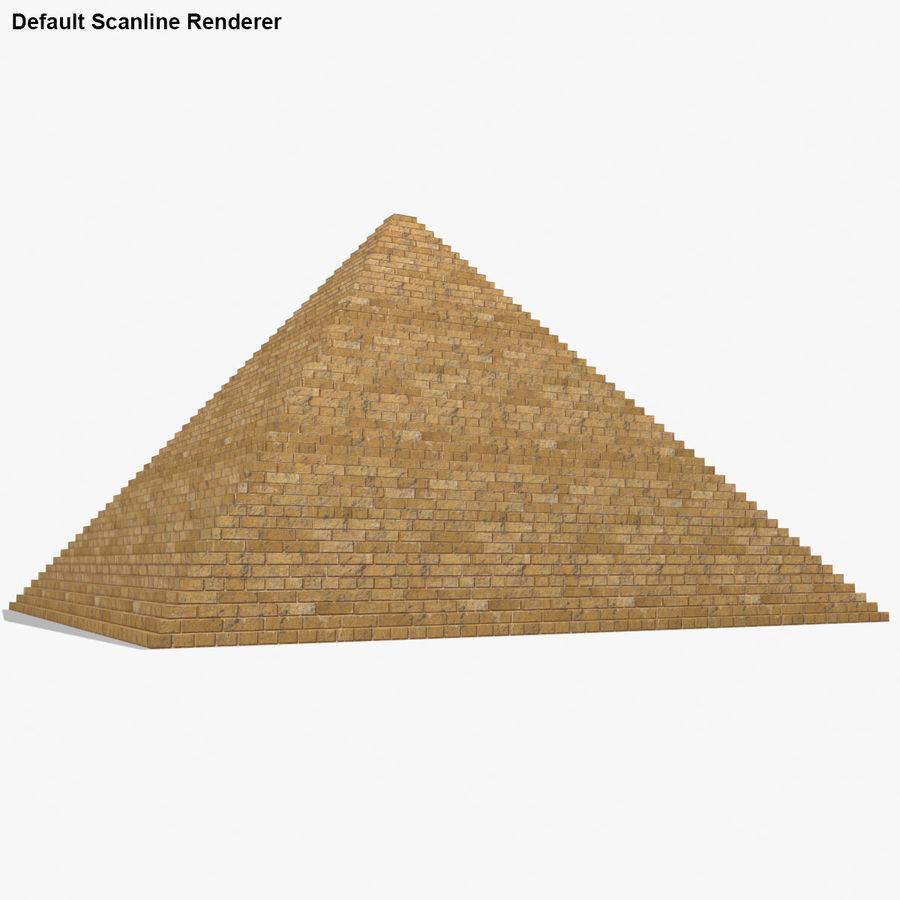 이집트 피라미드 royalty-free 3d model - Preview no. 19
