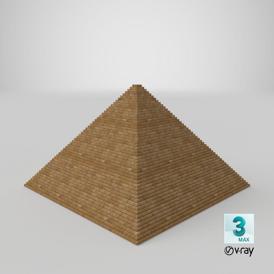 이집트 피라미드 royalty-free 3d model - Preview no. 23
