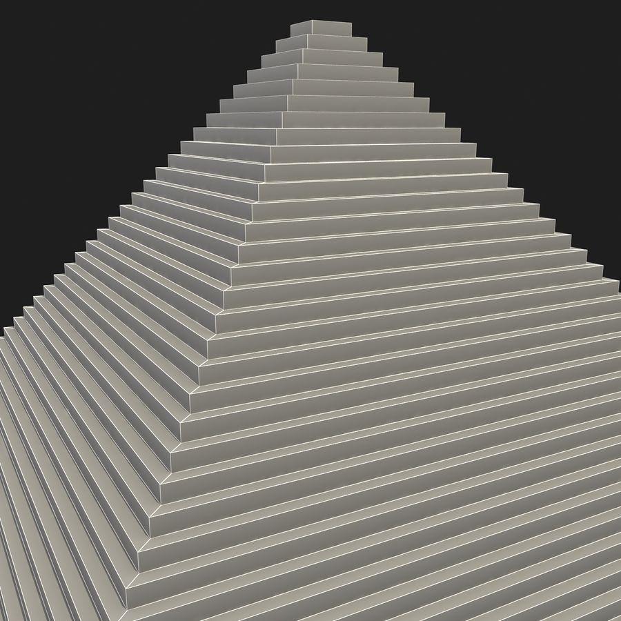 이집트 피라미드 royalty-free 3d model - Preview no. 15