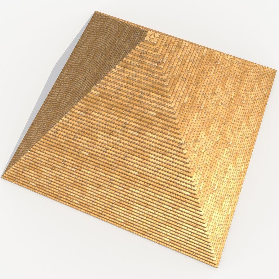 이집트 피라미드 royalty-free 3d model - Preview no. 7