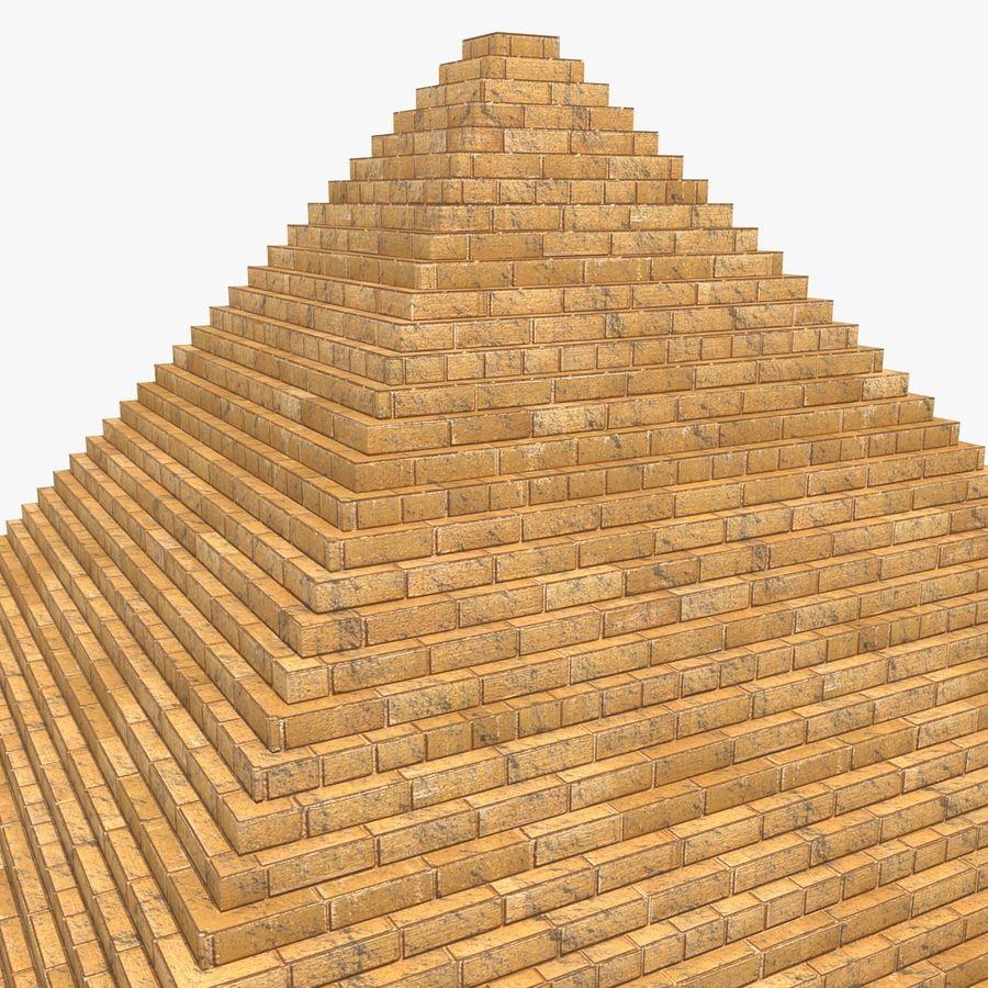 이집트 피라미드 royalty-free 3d model - Preview no. 6