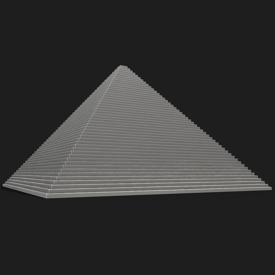 이집트 피라미드 royalty-free 3d model - Preview no. 17