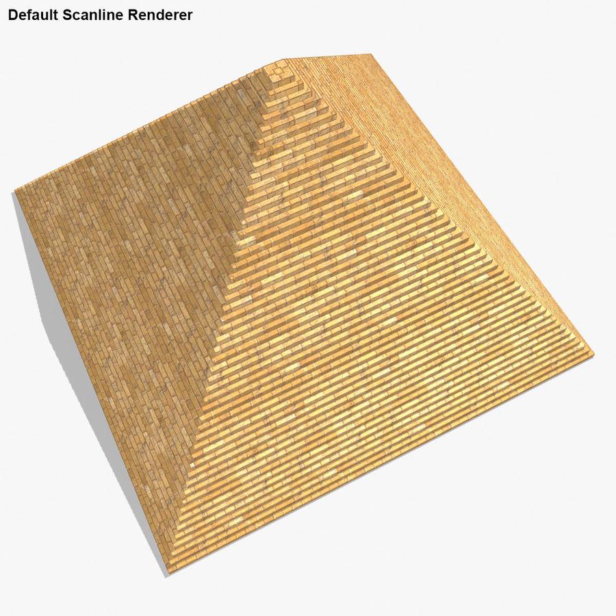 이집트 피라미드 royalty-free 3d model - Preview no. 20