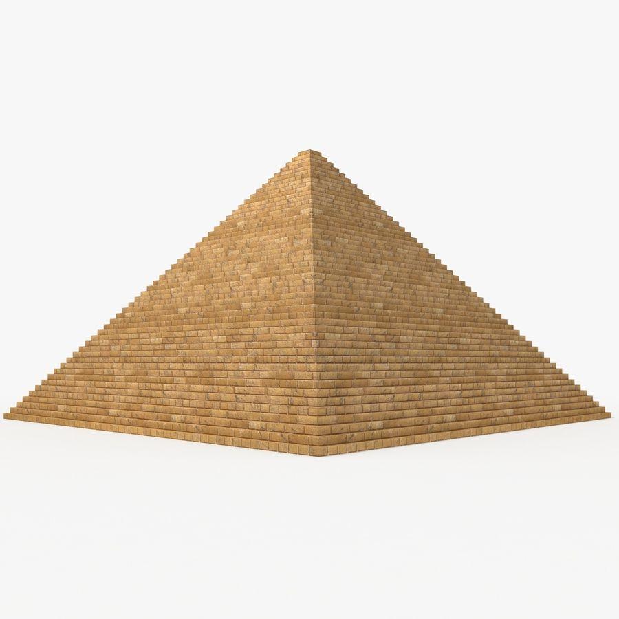 이집트 피라미드 royalty-free 3d model - Preview no. 10