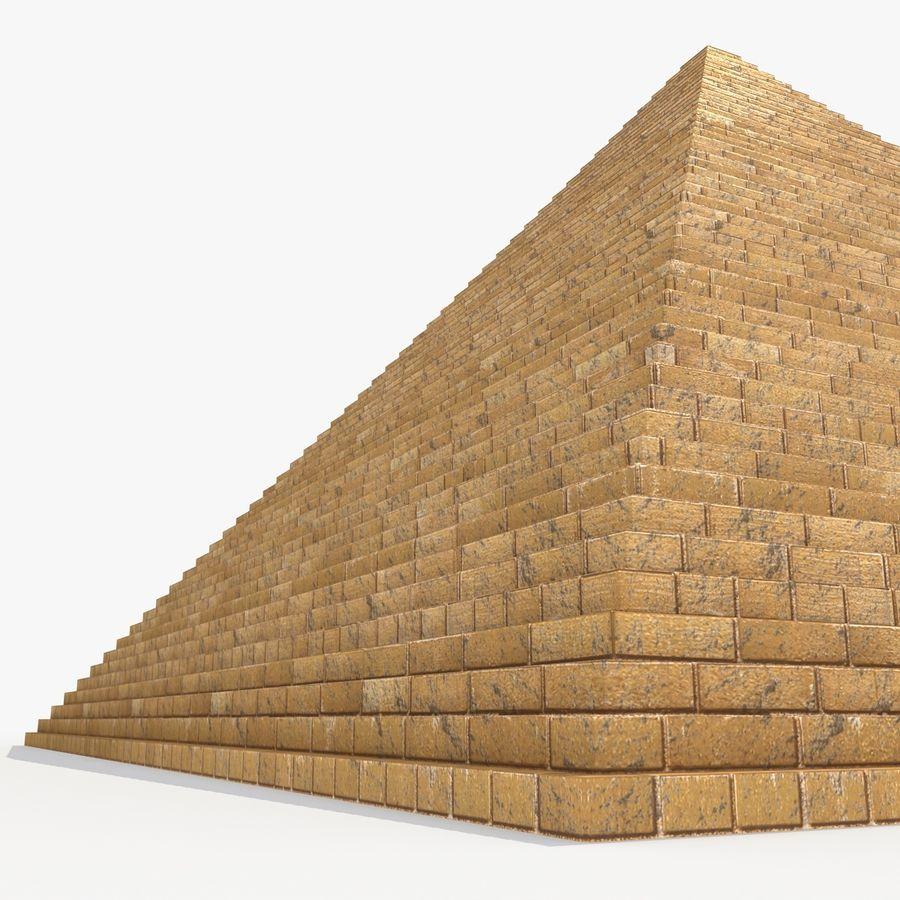 이집트 피라미드 royalty-free 3d model - Preview no. 5
