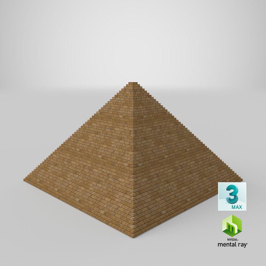 이집트 피라미드 royalty-free 3d model - Preview no. 24