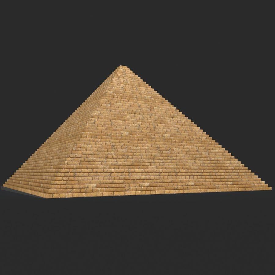 이집트 피라미드 royalty-free 3d model - Preview no. 2
