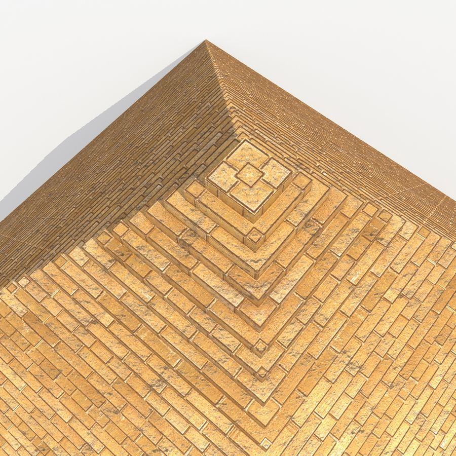 이집트 피라미드 royalty-free 3d model - Preview no. 8