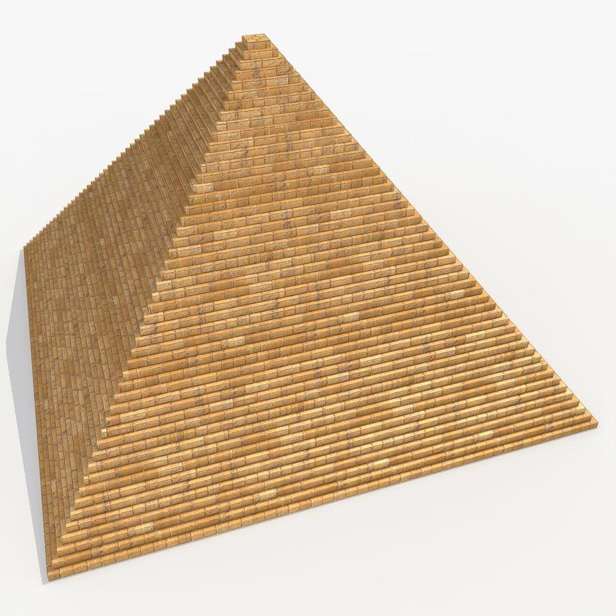 이집트 피라미드 royalty-free 3d model - Preview no. 9