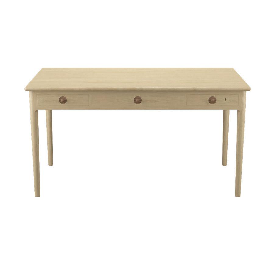 PP305 Desk - Hans J Wegner royalty-free 3d model - Preview no. 3
