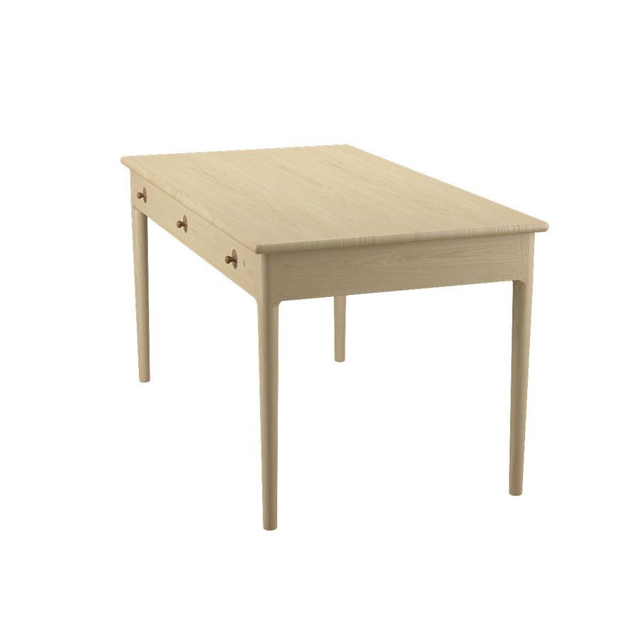 PP305 Desk - Hans J Wegner royalty-free 3d model - Preview no. 6