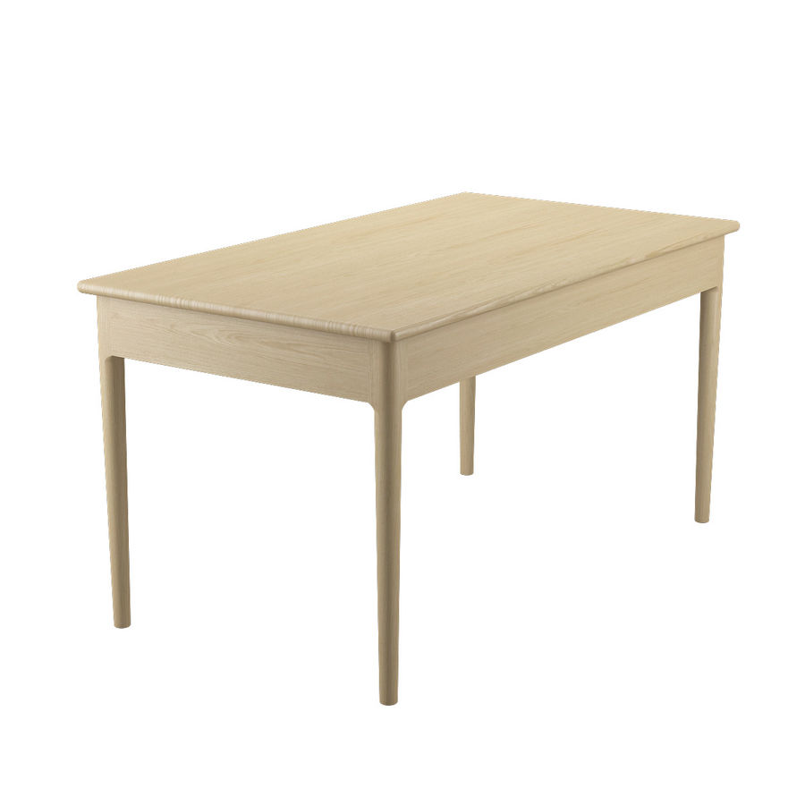 PP305 Desk - Hans J Wegner royalty-free 3d model - Preview no. 8
