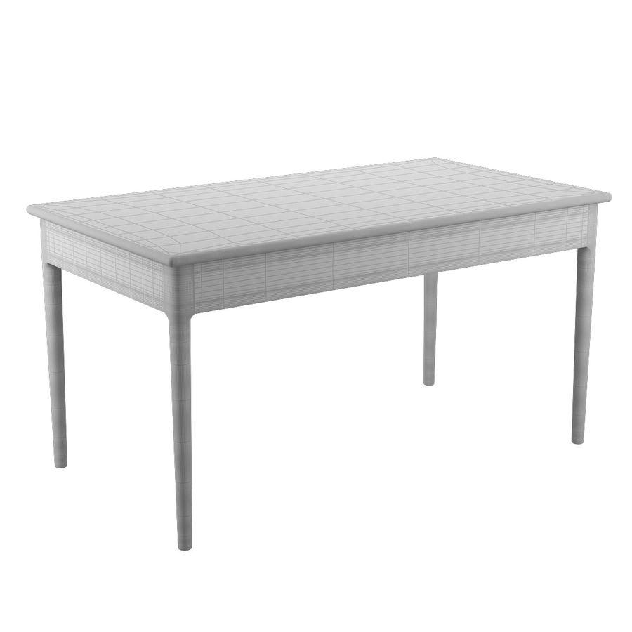 PP305 Desk - Hans J Wegner royalty-free 3d model - Preview no. 12