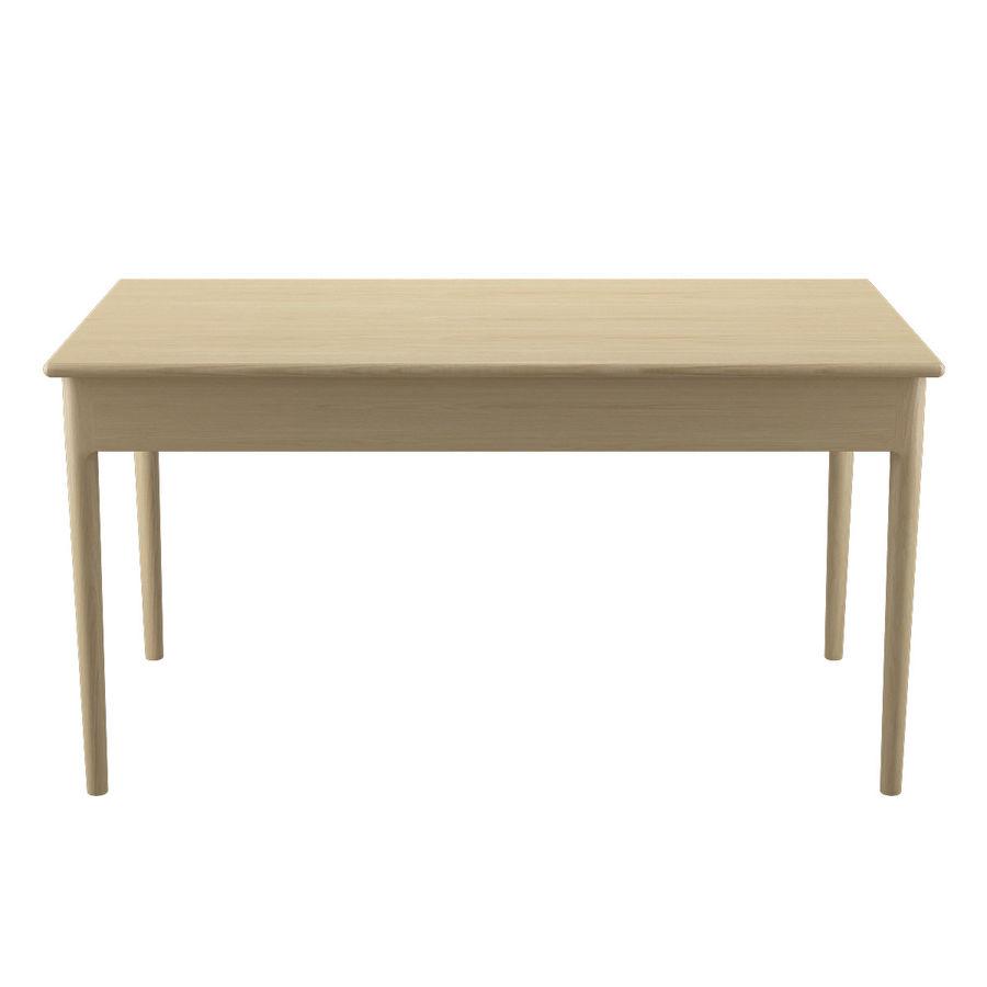 PP305 Desk - Hans J Wegner royalty-free 3d model - Preview no. 10