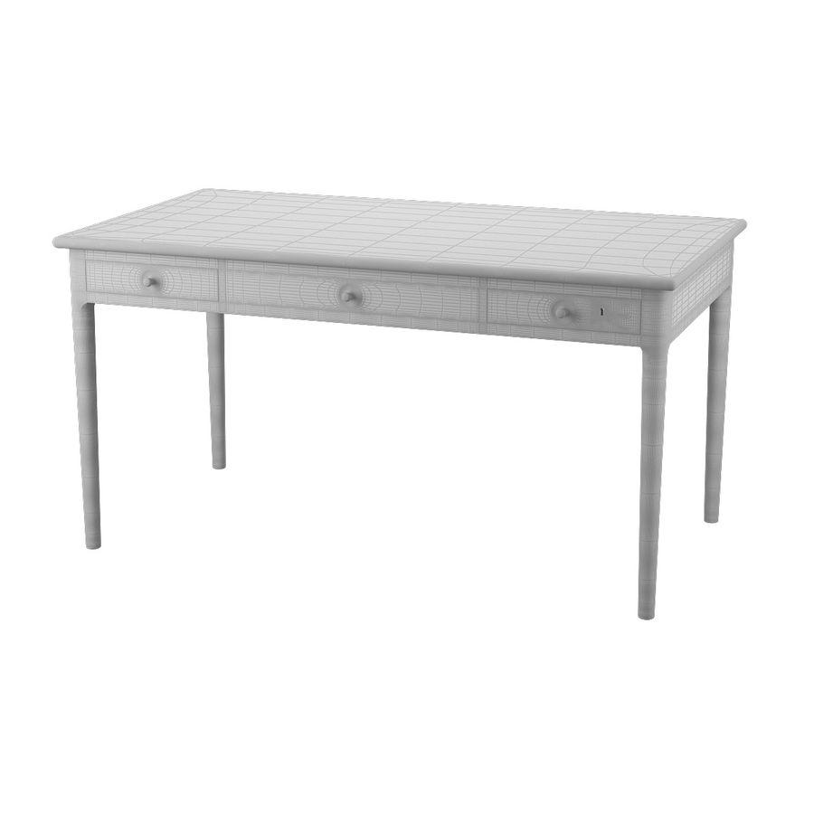 PP305 Desk - Hans J Wegner royalty-free 3d model - Preview no. 11