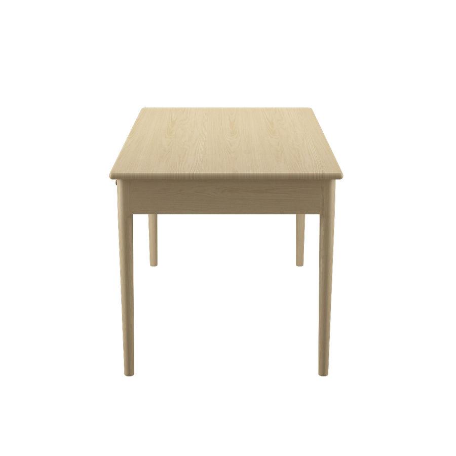 PP305 Desk - Hans J Wegner royalty-free 3d model - Preview no. 7