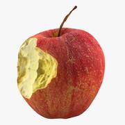 Хрустящее яблоко 3d model