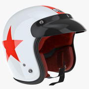 Helm mit Visier 3d model