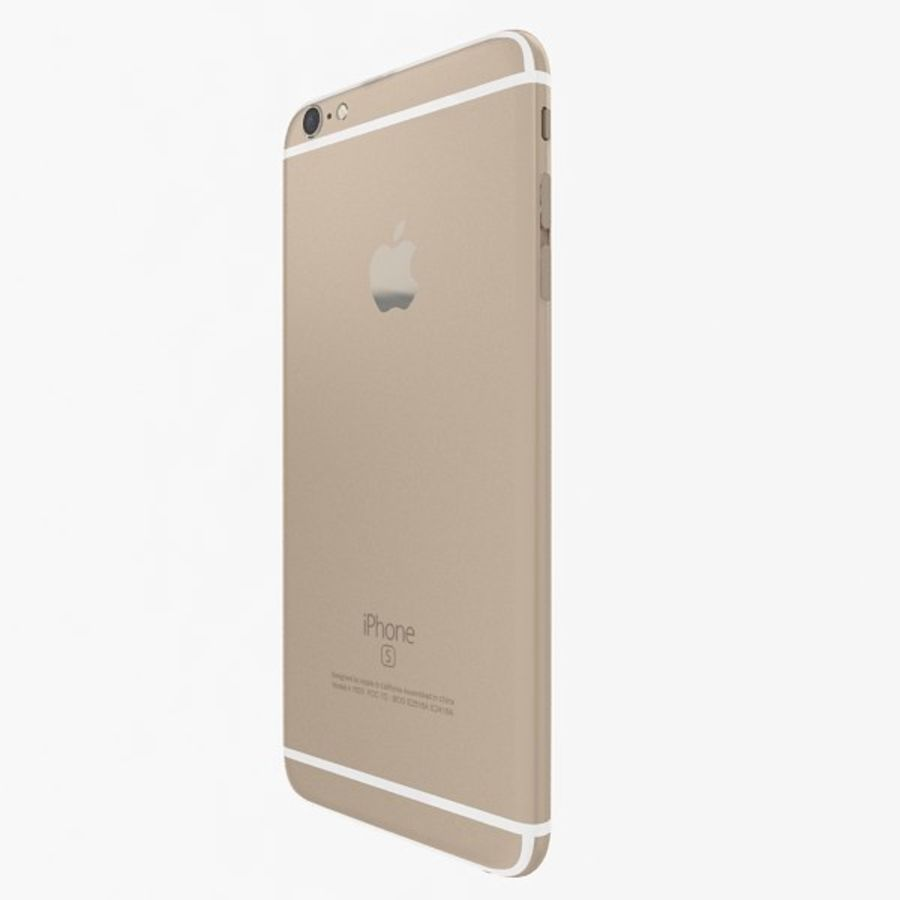 Apple iPhone 6s Plus Collection royalty-free 3d model - Preview no. 5