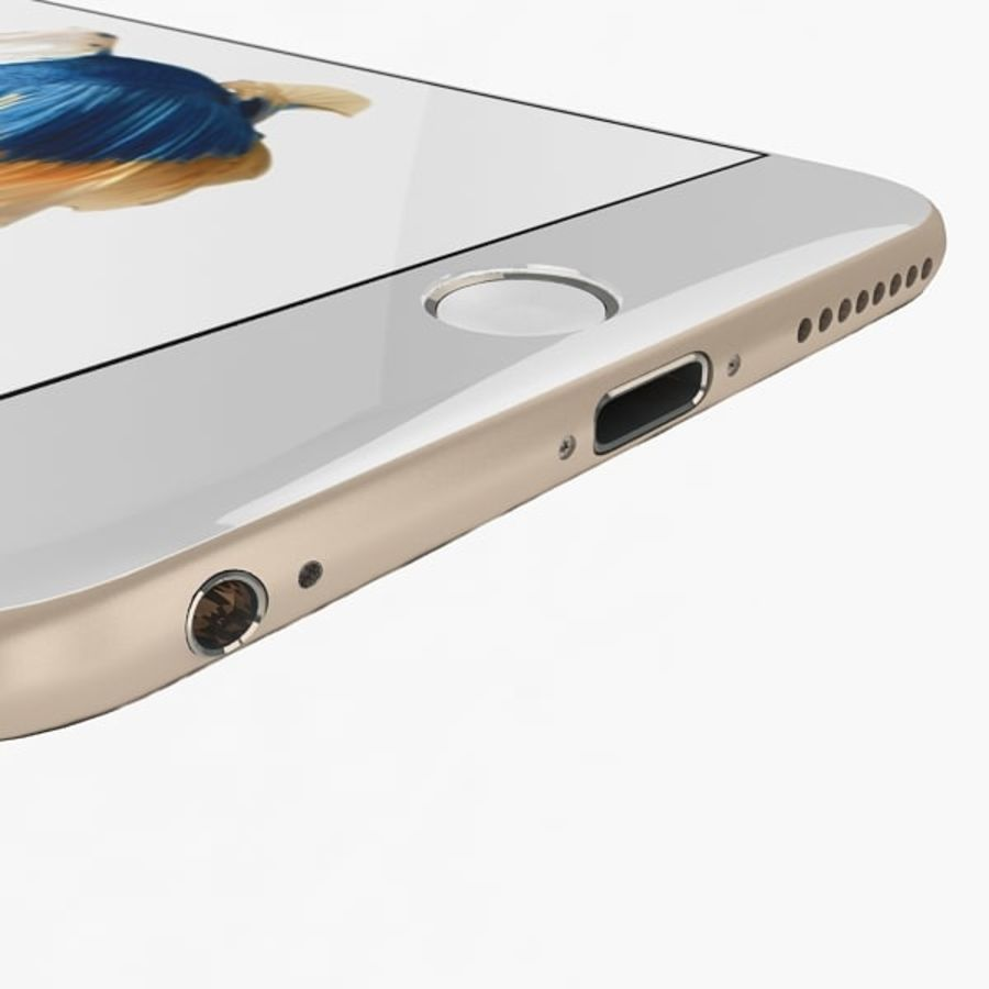 Apple iPhone 6s Plus Collection royalty-free 3d model - Preview no. 9