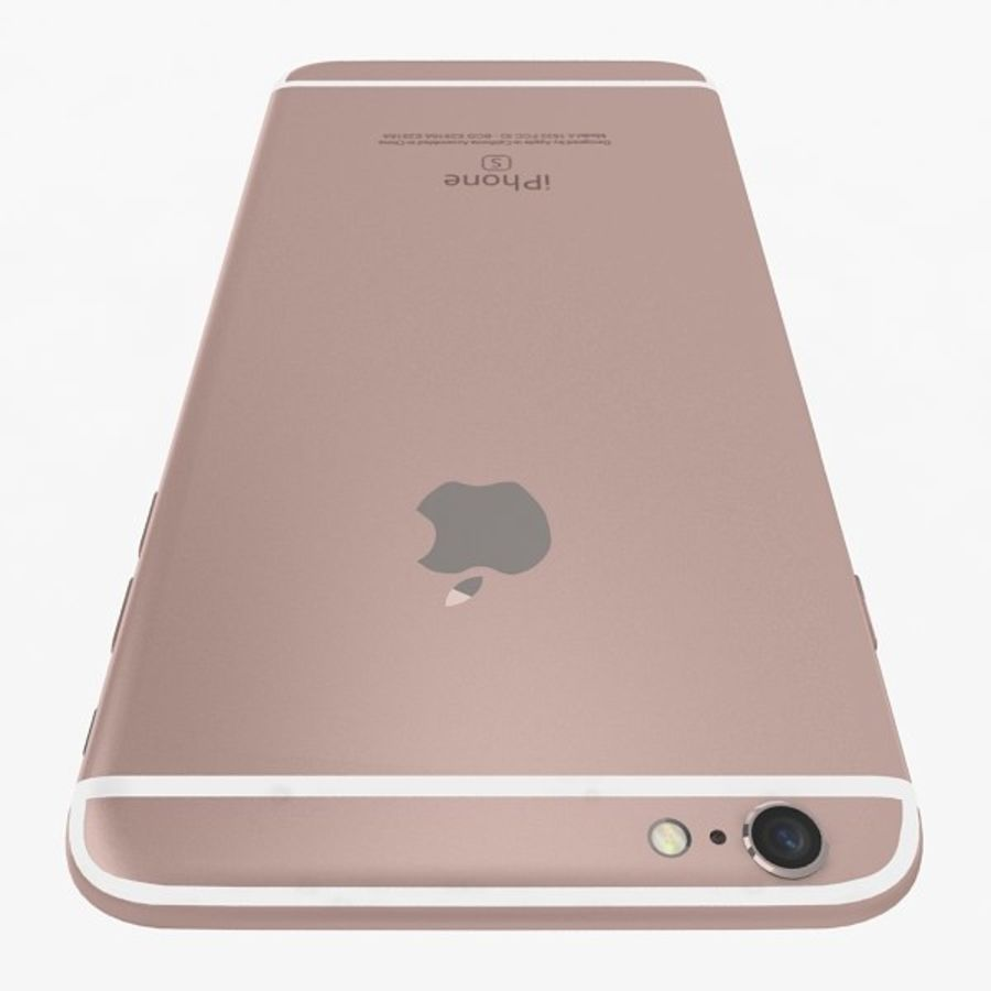 Apple iPhone 6s Plus Collection royalty-free 3d model - Preview no. 15