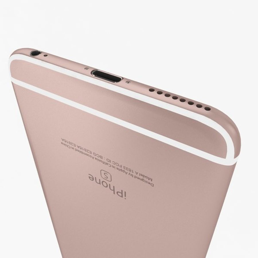 Apple iPhone 6s Plus Collection royalty-free 3d model - Preview no. 17